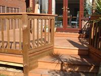 Hardwood Steps