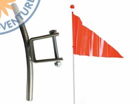 Flag and Holder